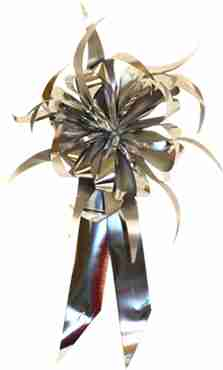 Silver MasterBow Starburst Bow