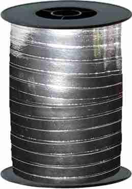 Silver Metallic Curling Ribbon 10mm x 250m