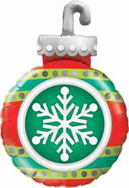 Snowflake Ornament Foil Shape 35in/89cm