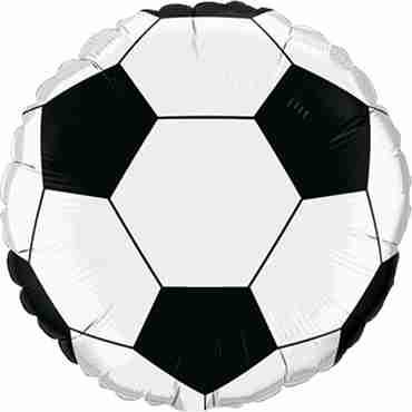Soccer Ball Foil Round 36in/90cm