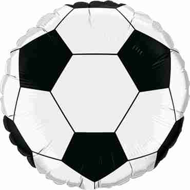 Soccer Ball Foil Round 9in/22.5cm