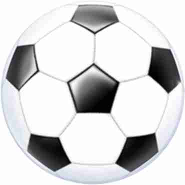 Soccer Ball Single Bubble 22in/55cm