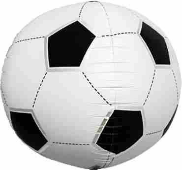 Soccer Ball Sphere 17in/43cm