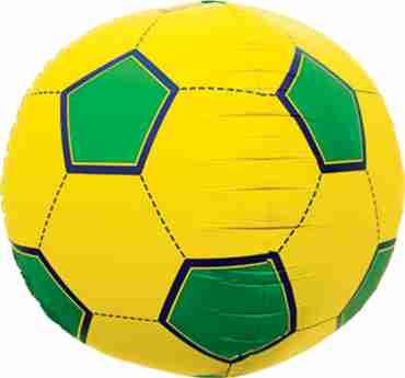 Soccer Ball Sphere Brazil 17in/43cm