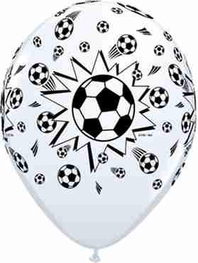 soccer balls standard white latex round 5in/12.5cm