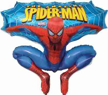 Spiderman Foil Shape 32in/80cm