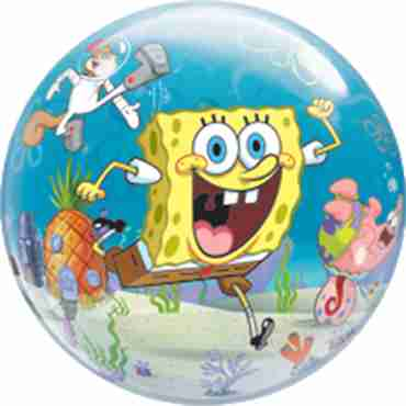 spongebob and friends single bubble 22in/55cm