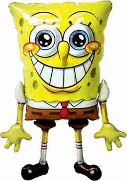 Spongebob Squarepants Airwalker 39in/74cm x 46in/117cm