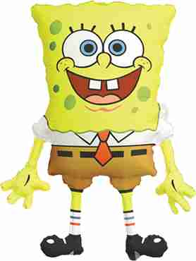 Spongebob Squarepants Foil Shape 22in/56cm x 28in/71cm