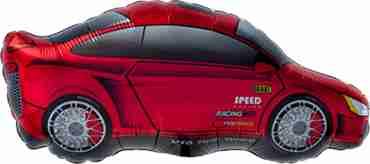 Sports Car Foil Shape 32in/81cm