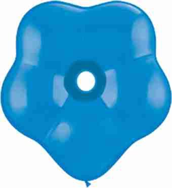 standard dark blue geo blossom 6in/15cm