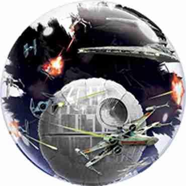 star wars death star double bubble 24in/60cm