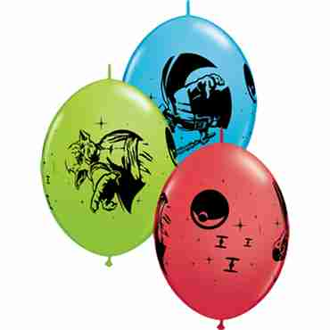 Star Wars Standard Red, Fashion Robins Egg Blue and Fashion Lime Green Assortment QuickLink 12in/30cm