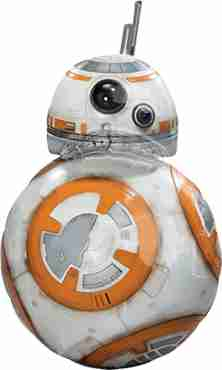 Star Wars The Force Awakens Foil Shape 20in/50cm x 33in/83cm