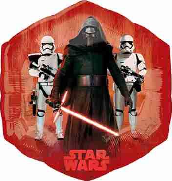 Star Wars The Force Awakens Foil Shape 22in/55cm x 23in/58cm