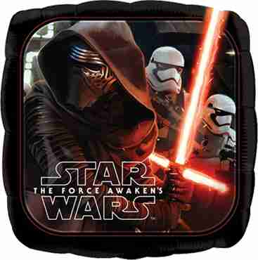 Star Wars The Force Awakens Foil Square 18in/45cm