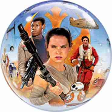 Star Wars The Force Awakens Single Bubble 22in/55cm