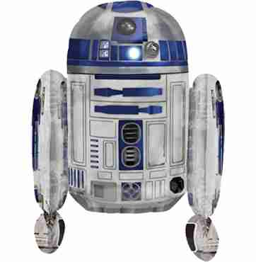 Stars Wars R2D2 Foil Shape 38in/95cm