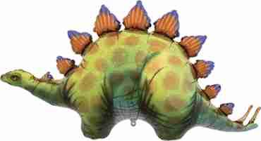 Stegosaurus Foil Shape 46in/117cm