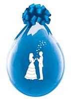 Stuffer Ballon Bruidspaar