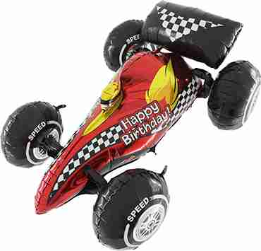 Super Dimensionals 3D Sport Car Foil Shape 36in/90cm