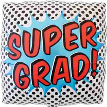 Super Grad Foil Square 18in/45cm