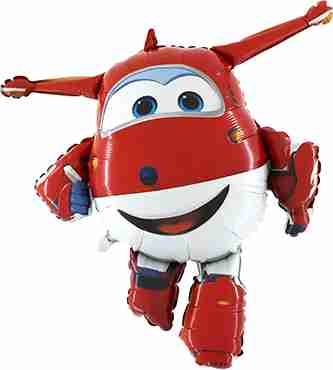 Super Wings-Jett Foil Shape 39in/97cm