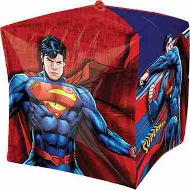 Superman Cubez 15in/38cm x 15in/38cm