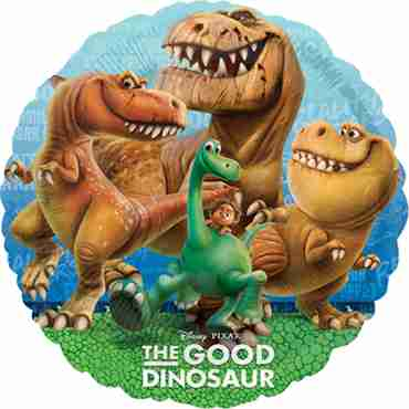 the good dinosaur foil round 18in/45cm
