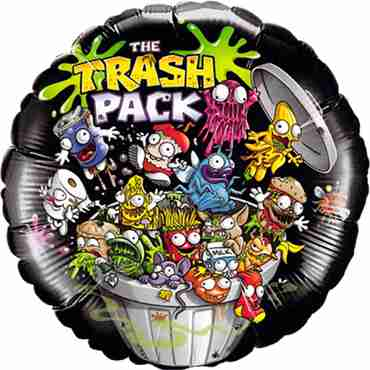 the trash pack foil round 18in/45cm