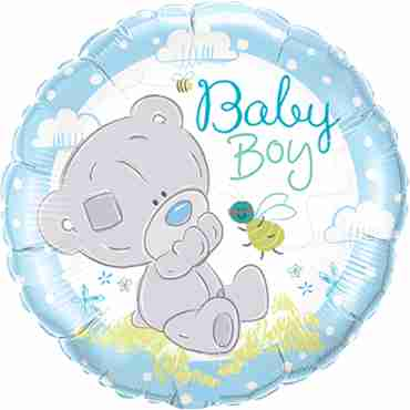 Tiny Tatty Teddy Baby Boy Foil Round 18in/45cm
