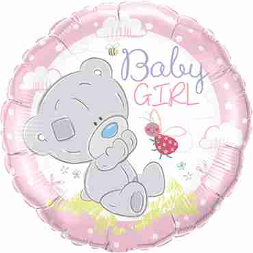 Tiny Tatty Teddy Baby Girl Foil Round 18in/45cm