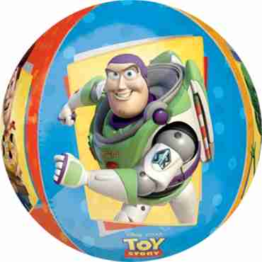 toy story orbz 15in/38cm x 16in/40cm