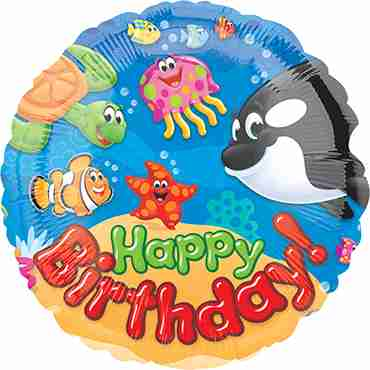 Trend Sea Buddies Foil Round 18in/45cm