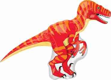 Velociraptor Vendor Foil Shape 40in/101cm x 30in/76cm