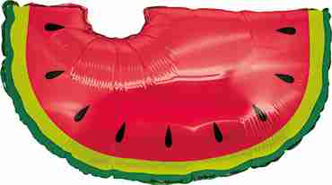 Watermelon Foil Shape 35in/89cm