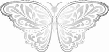 Wedding Butterfly Foil Shape 44in/112cm