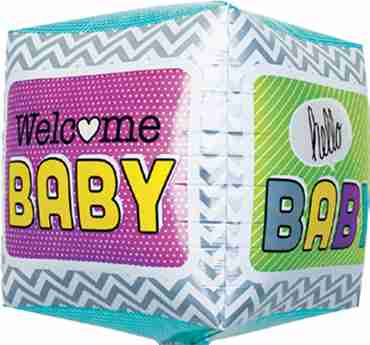 Welcome Baby Cube 17in/43cm