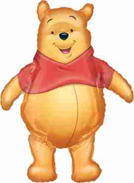 Winnie the Pooh Airwalker 27in/69cm x 37in/94cm