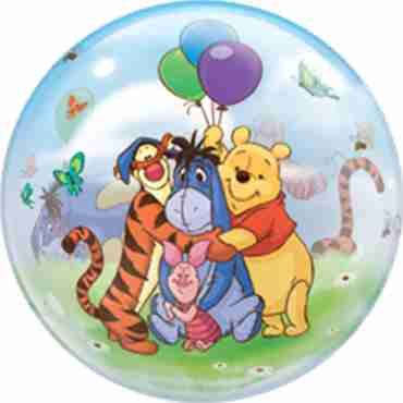 Winnie The Pooh and Friends Single Bubble 22in/55cm