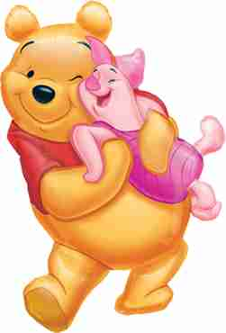 Winnie the Pooh Big Pooh Hug 20in/51cm x 32in/81cm