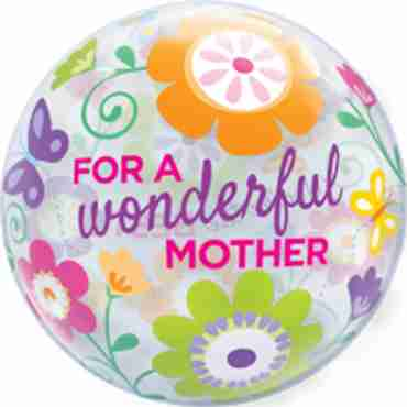 Wonderful Mother Spring Garden Single Bubble 22in/55cm