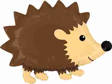 Woodland Hedgehog Foil Shape 30in/76cm