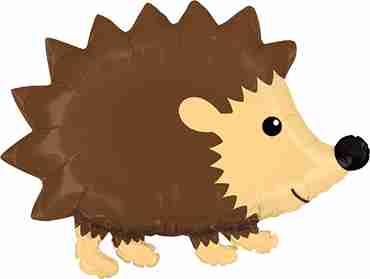 Woodland Hedgehog Foil Shape 30in/76cm