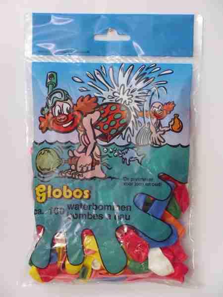 Zakje met 100 waterballonnen